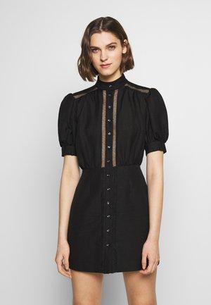 WORTHY DRESS - Korte jurk - black