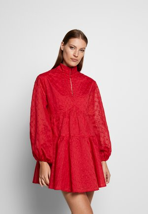 DIGNITY  DRESS - Day dress - red