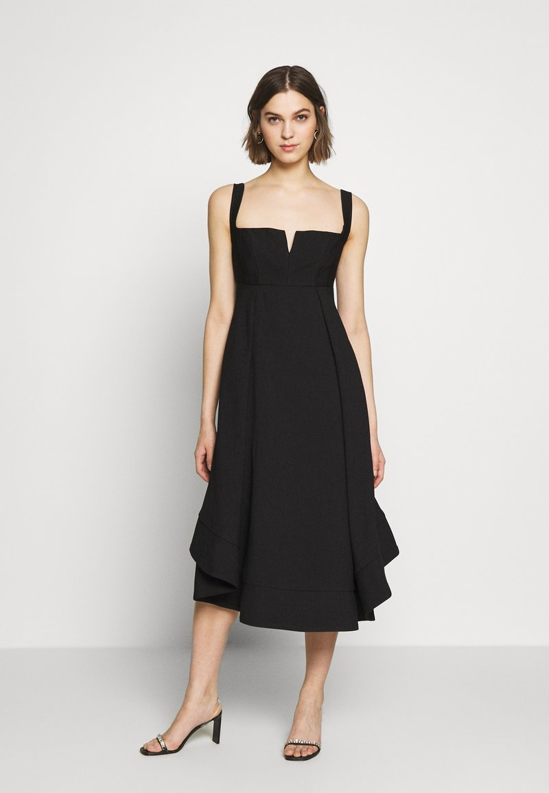 CMEO COLLECTIVE - STATEMENT GOWN - Cocktailjurk - black