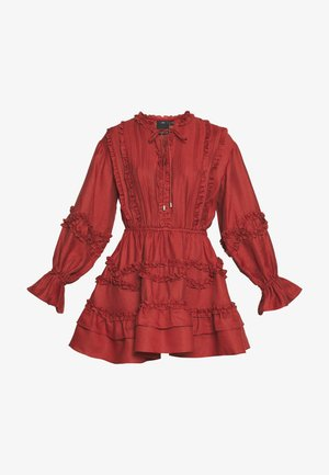 SLOW DOWN DRESS - Robe d'été - carmine