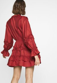 CMEO COLLECTIVE - SLOW DOWN DRESS - Day dress - carmine - 2