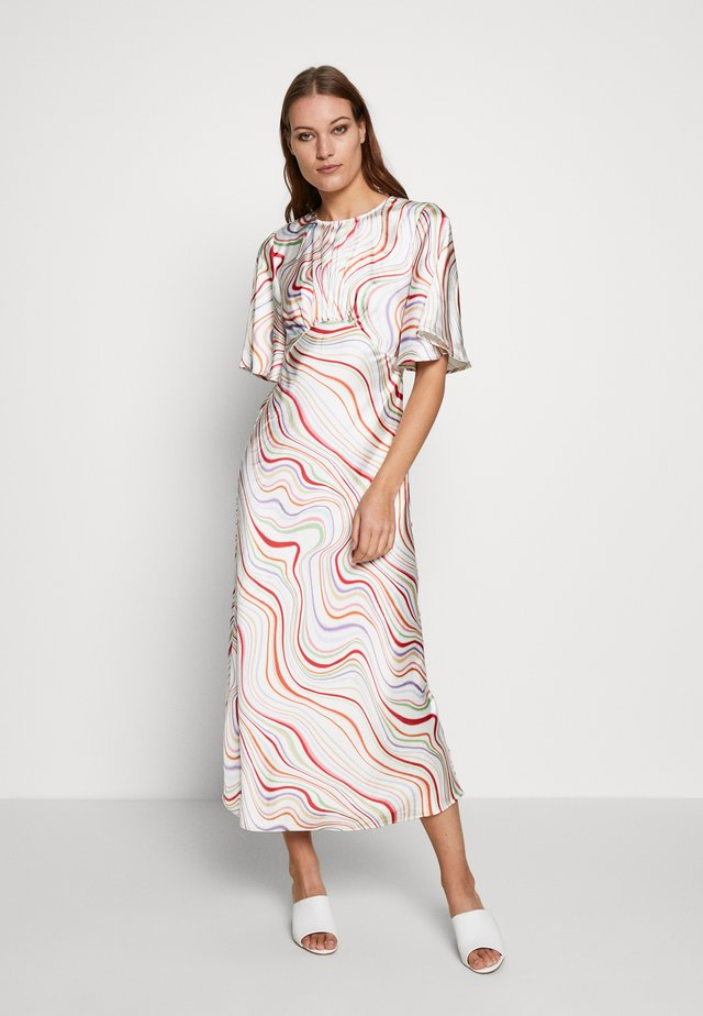 MY WAY DRESS - Day dress - ivory rainbow