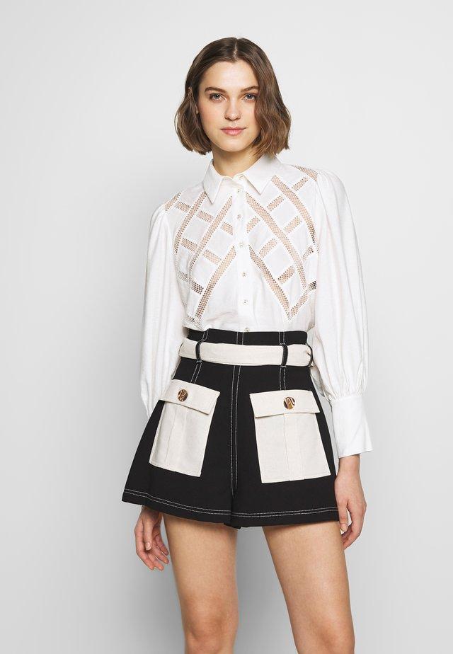 WORTHY SHIRT - Skjorta - ivory