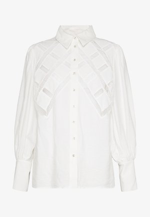 WORTHY SHIRT - Button-down blouse - ivory