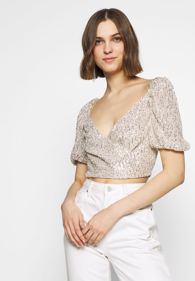 LUSTRE - Blouse - cream