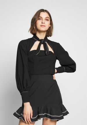 ORIGIN TOP - Camicetta - black