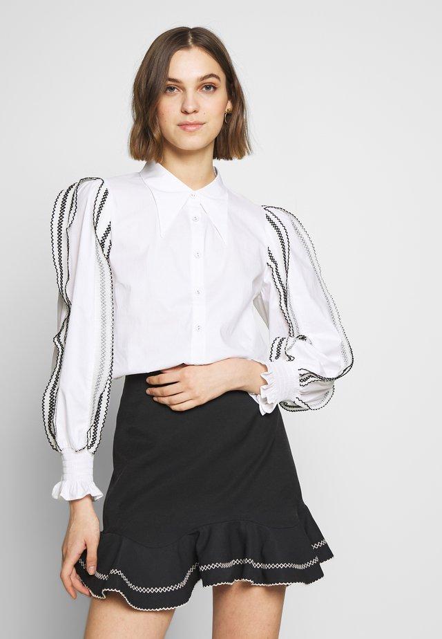 FOUNDER - Skjorta - white