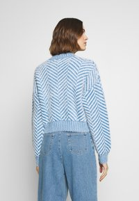 CMEO COLLECTIVE - STUCK ON YOU JUMPER - Svetr - blue - 2