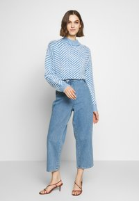CMEO COLLECTIVE - STUCK ON YOU JUMPER - Svetr - blue - 1