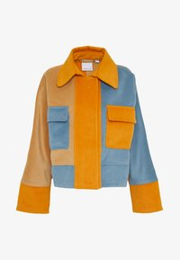 CMEO COLLECTIVE - NEW SKY JACKET - Leichte Jacke - slate/orange - 4