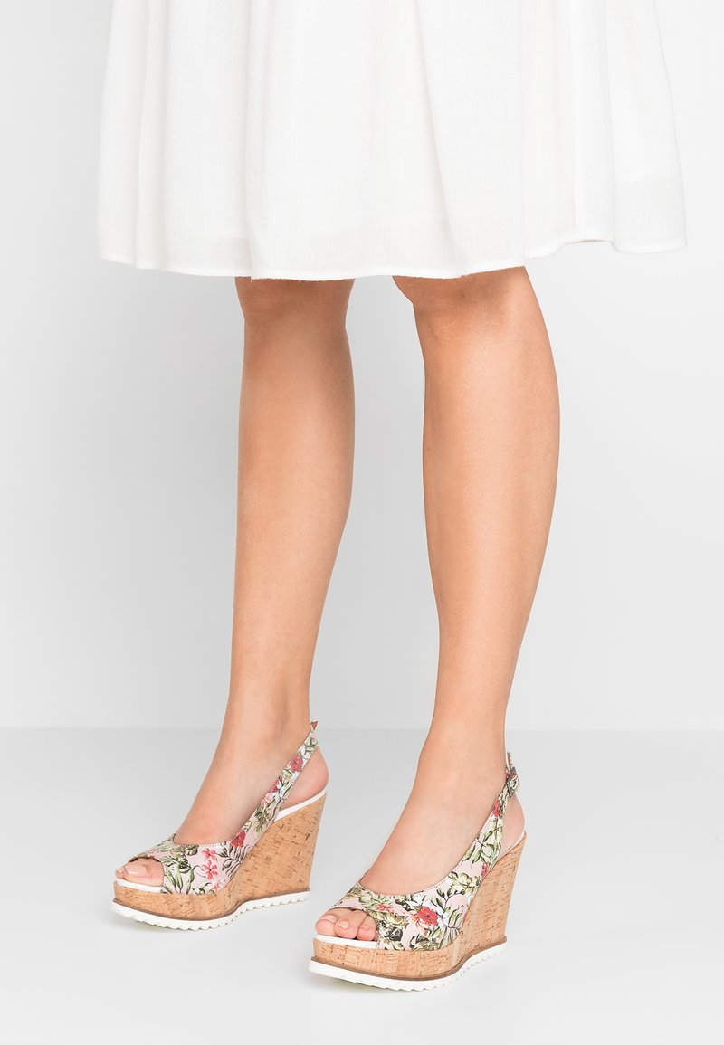 Cream - SILJA - Højhælede sandaletter / Højhælede sandaler - pink champagne