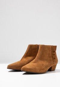 Cream - Ankelboots - bronzed - 4