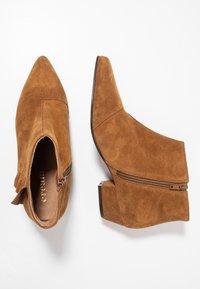 Cream - Ankelboots - bronzed - 3