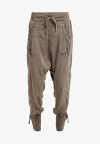 Cream - NANNA PANTS - Bukser - khaki - 3