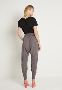 Cream - NANNA PANTS - Trousers - pitch black - 2