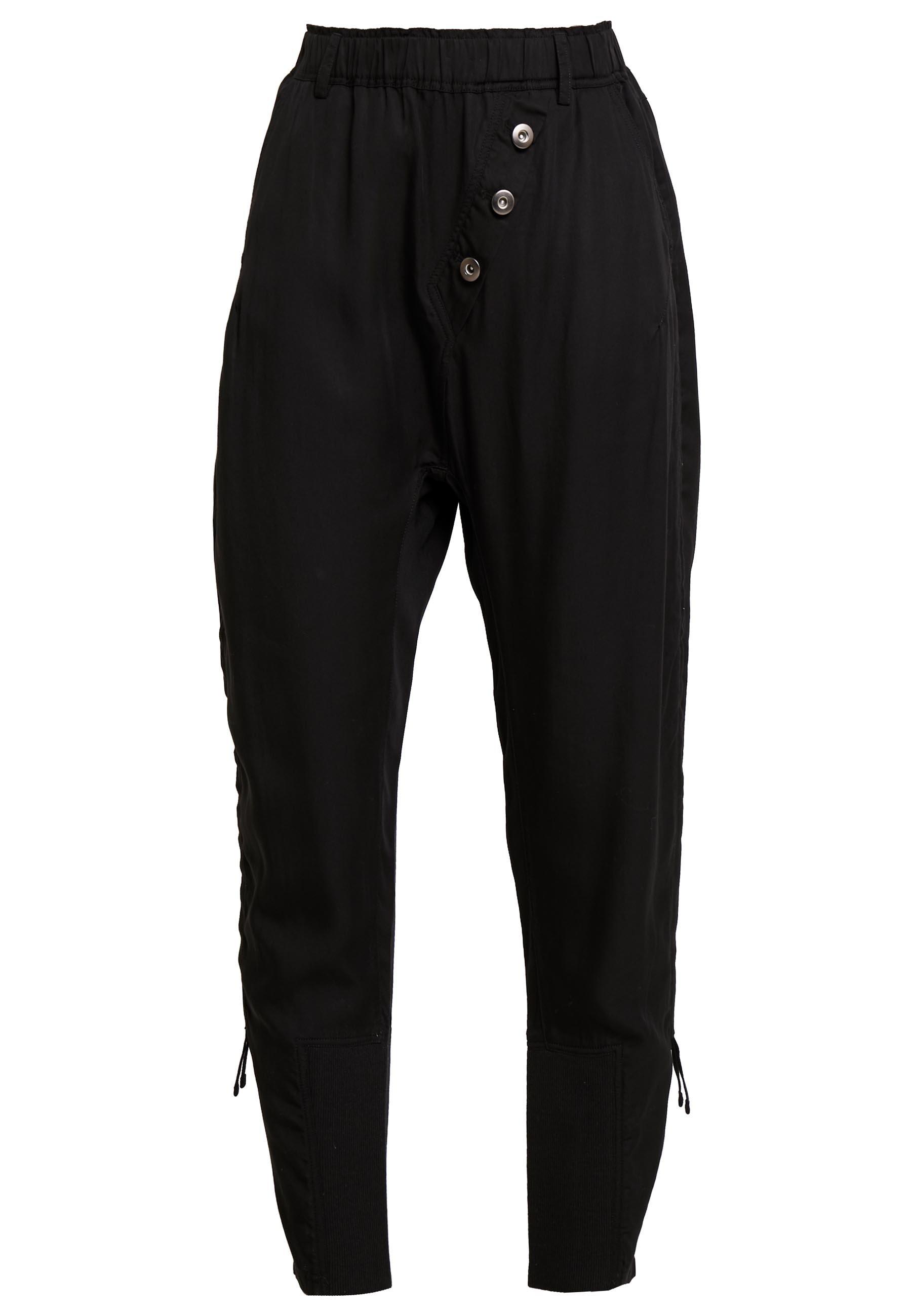 Cream Sillian Pants - Kangashousut Pitch Black