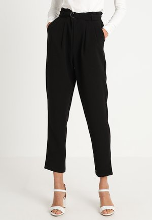 LEONARA PANTS - Broek - pitch black