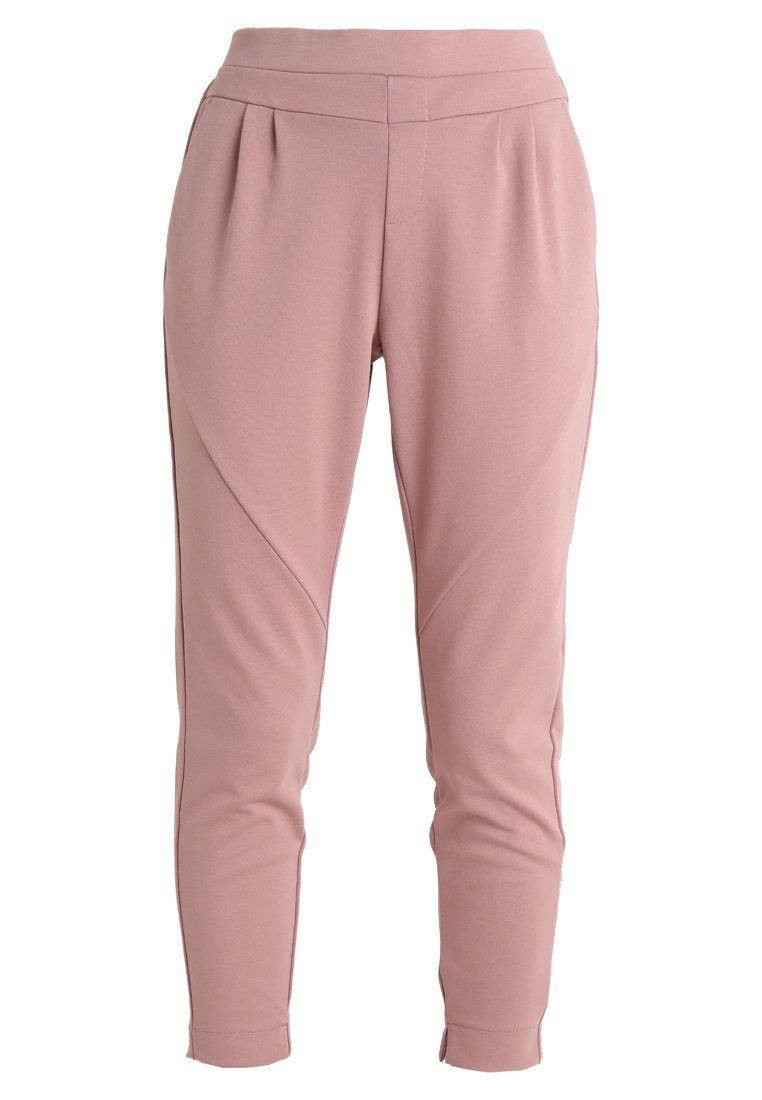 Cream ANETT PANTS - Spodnie materiałowe - old rose