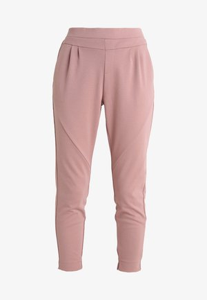 ANETT PANTS - Tygbyxor - old rose