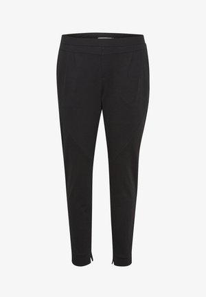 ANETT PANTS - Pantaloni - pitch black