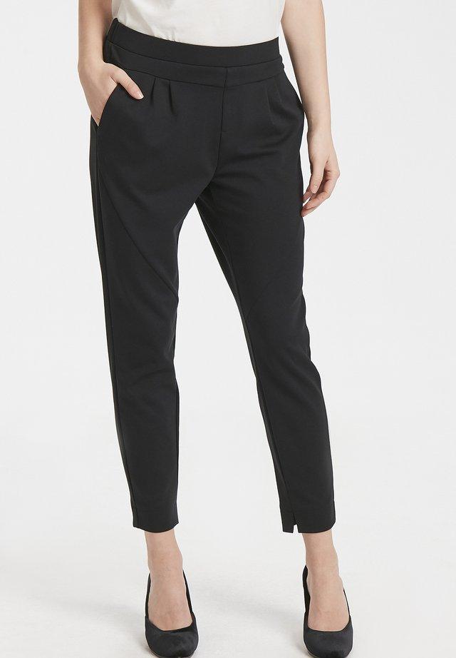 ANETT PANTS - Trousers - pitch black