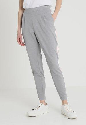 BEATE PANTS - Pantalon classique - light grey melange