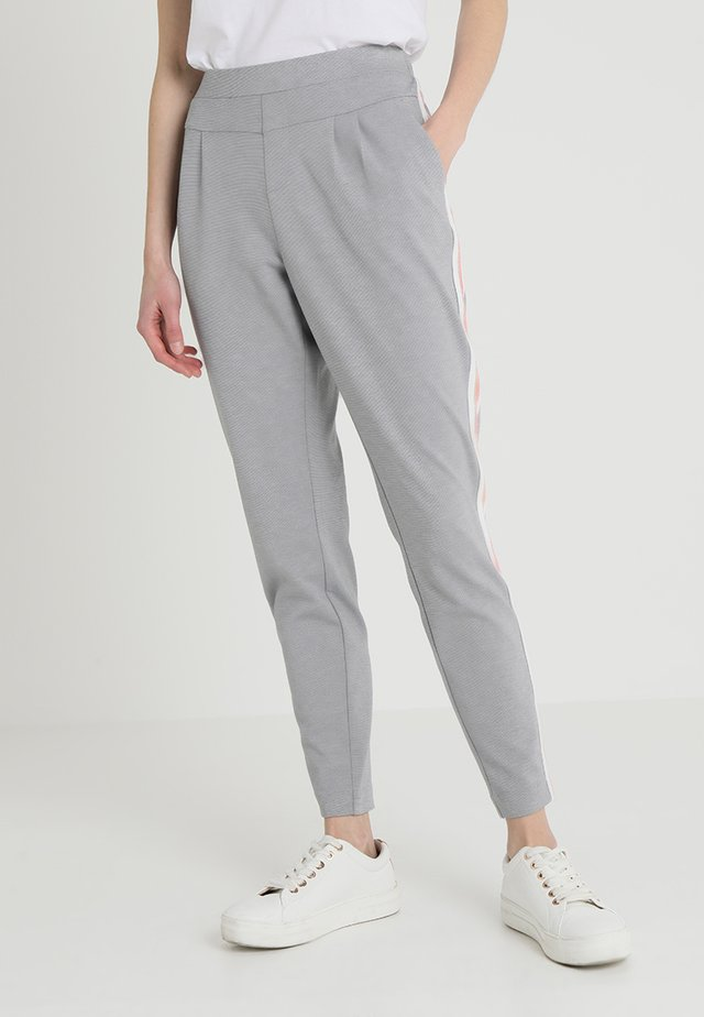BEATE PANTS - Bukser - light grey melange