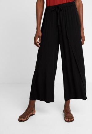 ALLIE PANTS - Broek - pitch black