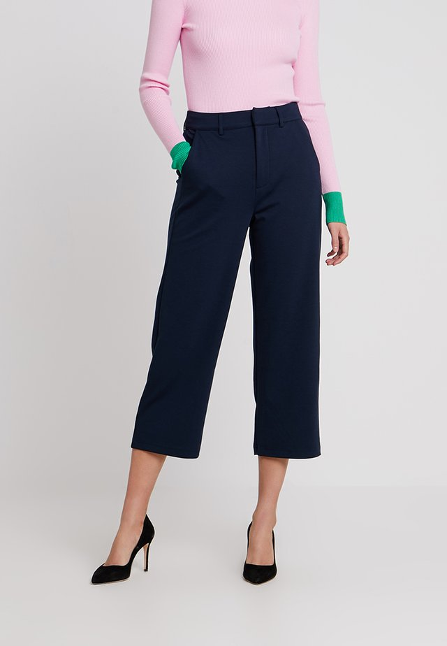 ANETT CULOTTE - Bukser - royal navy blue