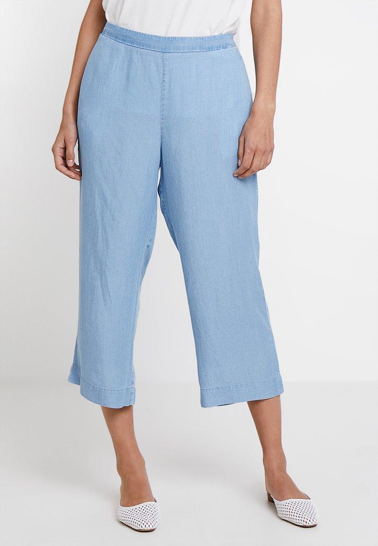 Cream - BELLO CULOTTE PANTS - Shorts - clear blue