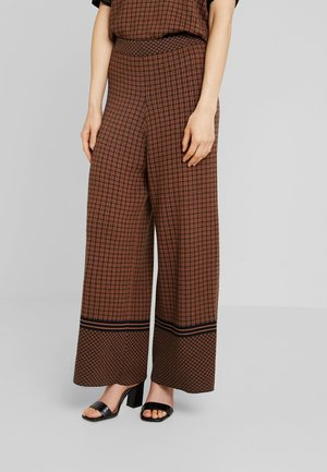 SIONA PANTS - Trousers - bronzed