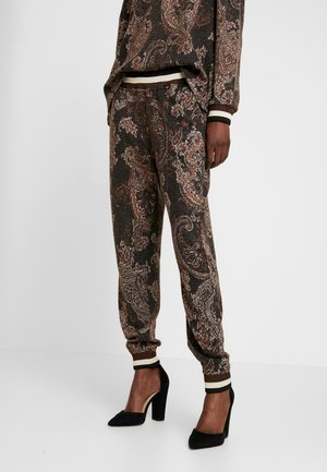 MONA PANTS - Pantalon classique - pitch black