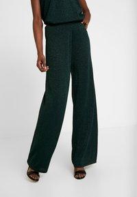 Cream - SIERRA PANTS - Bukse - deep green - 0