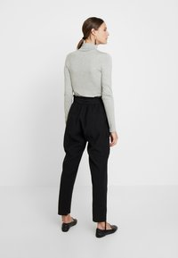 Cream - LONA PANTS - Broek - pitch black - 3