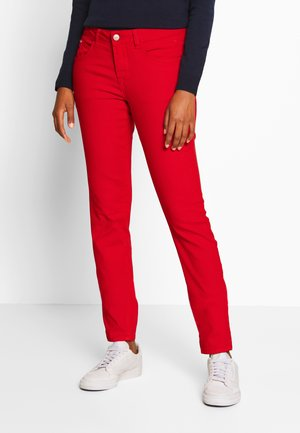 LOTTECR PLAIN TWILL COCO - Pantaloni - aurora red