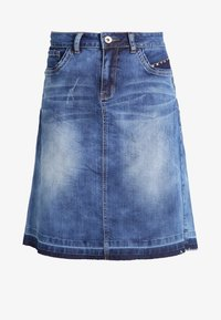 Cream - A-line skjørt - rich blue denim - 5