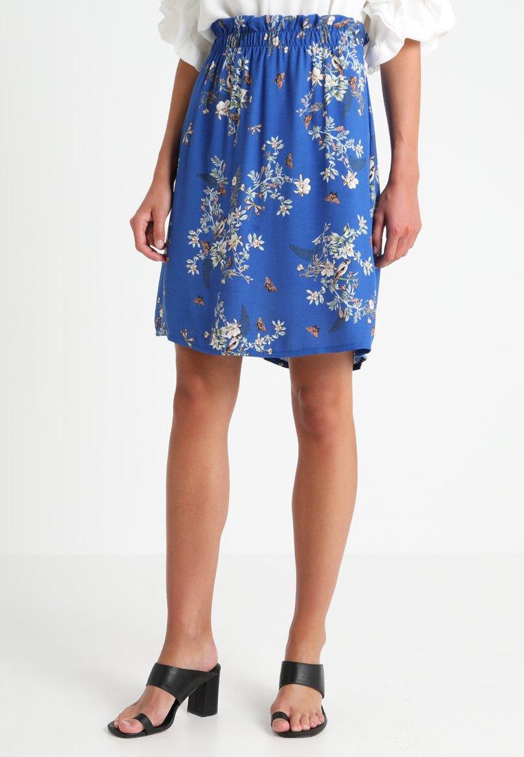 Cream - BELLA SKIRT - A-snit nederdel/ A-formede nederdele - galaxy blue