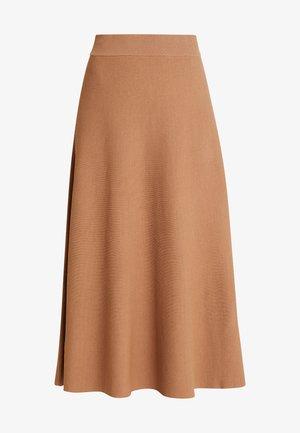 CELINA SKIRT - A-snit nederdel/ A-formede nederdele - brown sugar