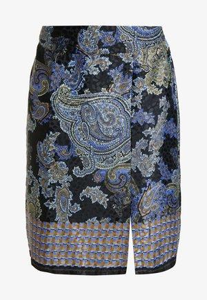CAROLYNA SKIRT - Pencil skirt - pitch black