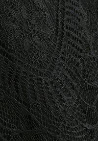 Cream - LIZZYCR - Jupe trapèze - pitch black - 4
