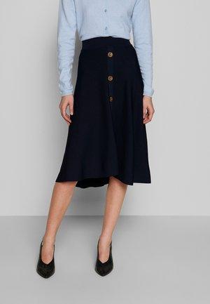 MIMI SKIRT - A-lijn rok - royal navy blue