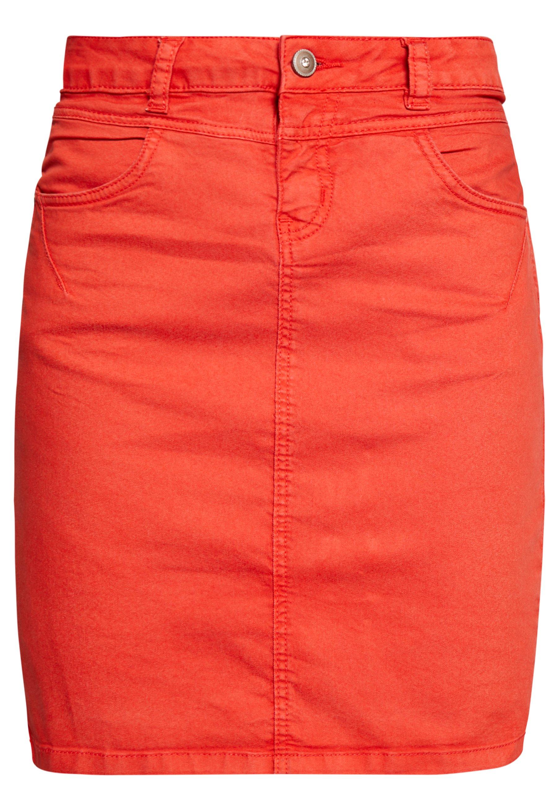 Cream AMALIE SKIRT - Spódnica ołówkowa  - aurora red