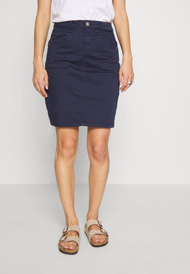 AMALIE SKIRT - Pencil skirt - royal navy blue