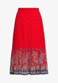 Cream - NALITA SKIRT - A-line skirt - aurora red - 3