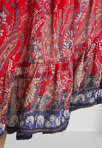 Cream - NALITA SKIRT - A-line skirt - aurora red - 4
