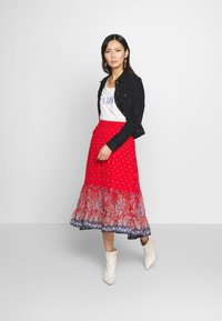 Cream - NALITA SKIRT - A-line skirt - aurora red - 1