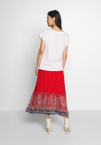 Cream - NALITA SKIRT - A-line skirt - aurora red - 2