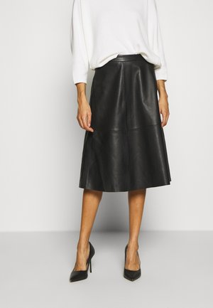 SIMONE SKIRT - A-linjainen hame - pitch black