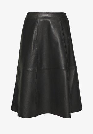 SIMONE SKIRT - A-line skirt - pitch black