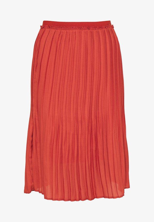 VEMIACR SKIRT - A-line skirt - chili oil